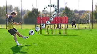 freekickerz vs Nuri Sahin (BVB) - Free Kick Football Challenge
