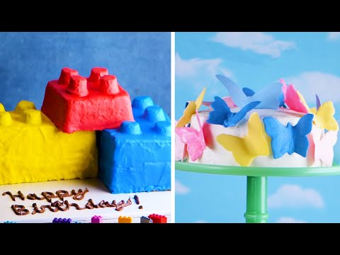 Play with Your Food! 7 Easy Cakes for Kids! 🚜🐠👸 Delicious Cake Recipes by So Yummy