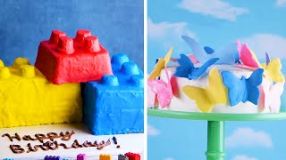 Play with Your Food! 7 Easy Cakes for a Birthday Party! 🚜🐠👸 Delicious Cake Recipes by So Yummy