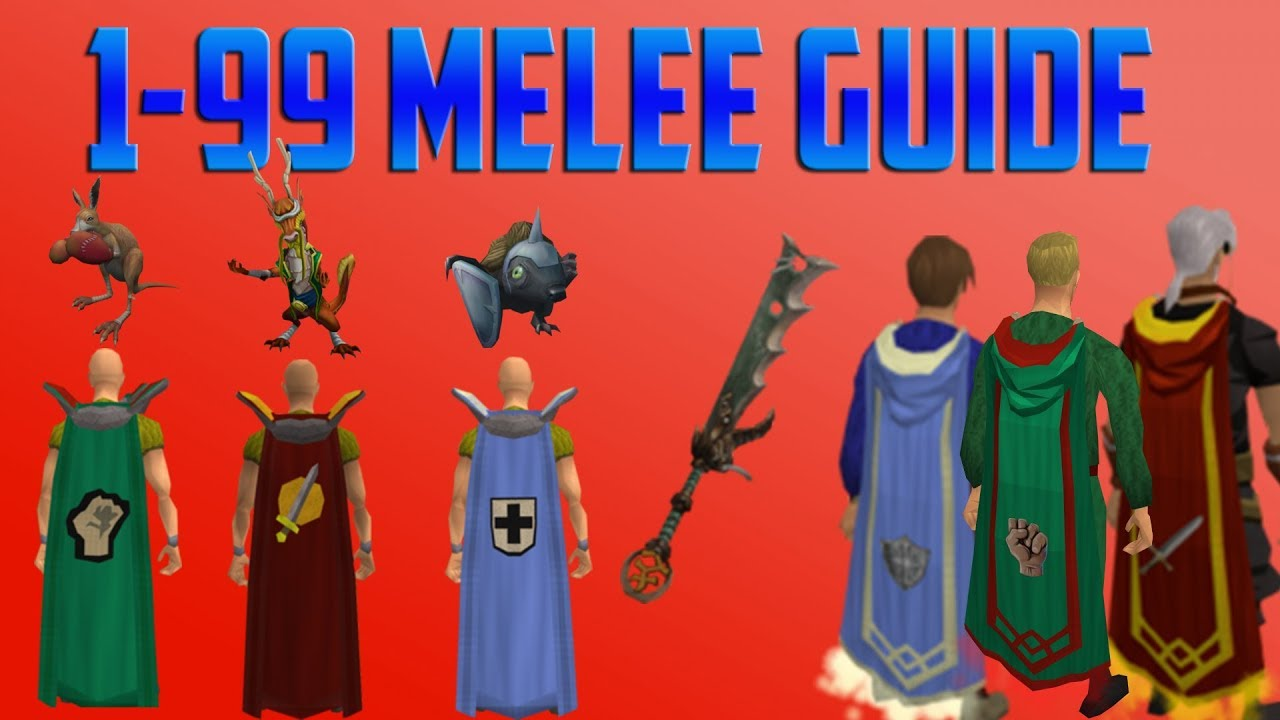 F2p guide to training combat skills to 99 in oldschool runescape.