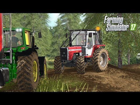 Farming Simulator 2017 | SETTING UP FOR FORESTRY | Ballymoon Castle | Episode 15 thumbnail