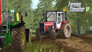 Farming Simulator 2017 | SETTING UP FOR FORESTRY | Ballymoon Castle | Episode 15