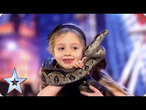 Poetry with a HUGE COBRA?! | Britain's Got Talent