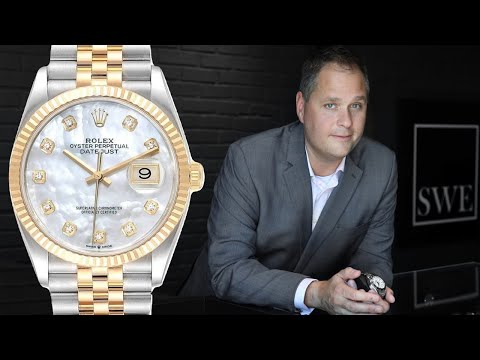 How To Wind An Automatic Watch - Rolex Datejust | SwissWatchExpo [Watch How To]