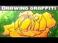 How to draw a Graffiti Rose - Promarker & Posca Tutorial