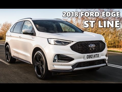 2018 ford edge st line exterior interior drive youtube. Black Bedroom Furniture Sets. Home Design Ideas