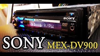 SONY MEX DV900 CAR DVD HEAD UNIT