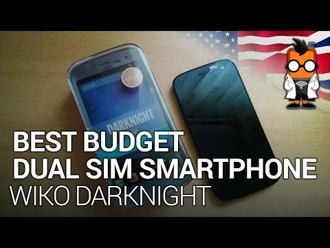 Best Dual SIM Budget Smartphone? Wiko Darknight Review
