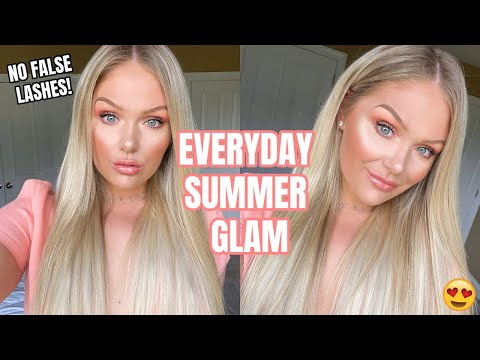 EVERYDAY SUMMER MAKEUP LOOK (no False Lashes) | GET READY WITH ME
