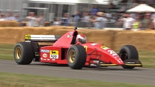 BEST SOUNDING Ferrari F1 EVER?!? 1995 Ferrari 412 T2 3.0 V12 Screaming Exhaust!