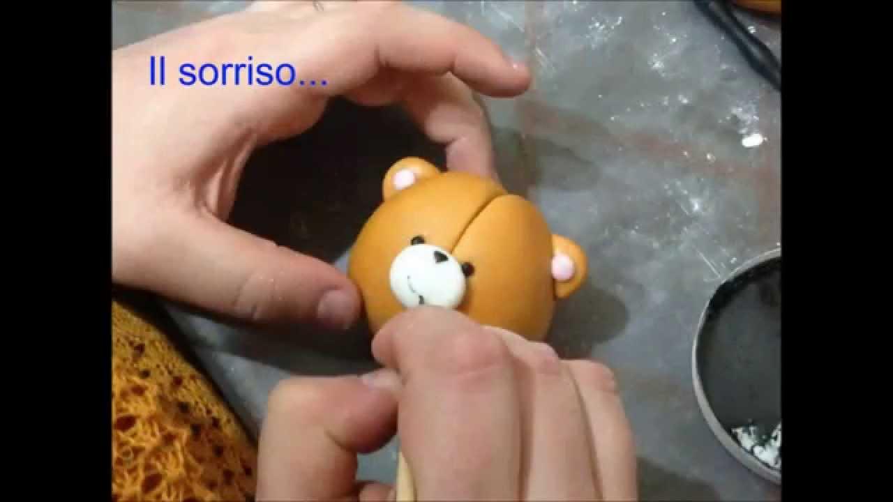 Orsetto in pasta di zucchero renato