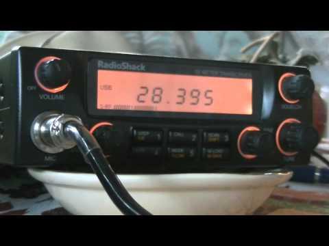 N4SAX - ALASKA - KL7LF on 10 Meters!!  IC-703 & HTX-10