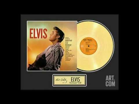 HIS LATEST FLAME--ELVIS PRESLEY (NEW ENHANCED RECORDING) HD AUDIO/720P)
