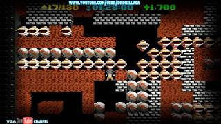 Boulder Dash XL Retro Mode Gameplay HD 720p