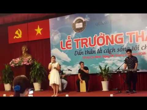 Con Yêu - Thiện Nhân - Lễ trưởng thành trường THCS Quang Trung-Nguyễn Huệ