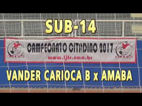 CITADINO SUB-14 CT VANDER CARIOCA-B 3x1 AMABA. herick futsal 7ee53861dc762