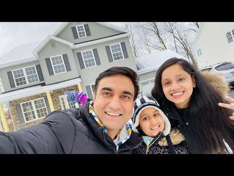 We bought a New House in New York - Vlog 25 | Lalit Shokeen