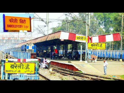 [IRI] Bareilly City to Bareilly Junction Full Video On-Board Himgiri Super Fast Express