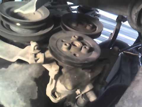 Chrysler 3 8 Serpentine Belt Diagram Honeywell Pressure Transducer Wiring Cambiar Banda De Direccion Hidraulica-bomba Agua - Youtube