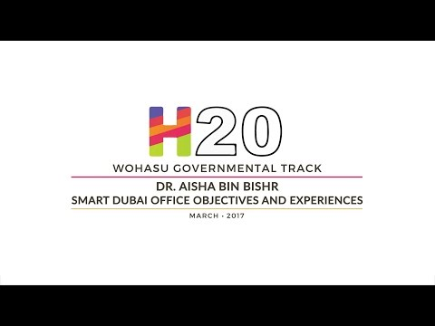 Dr. Aisha Bin Bishr - Smart Dubai Office Objectives and Experience