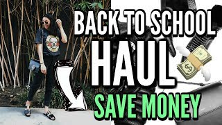 BACK TO SCHOOL SHOPPING + Clothing HAUL 2017 (Earny)