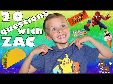 20 Facts About Me!  20 Things You Didn't Know About Zac from Family Fun Pack!