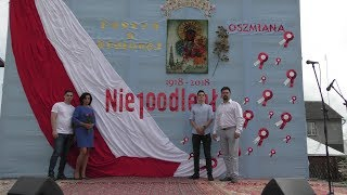 Śpiewająca Rodzina Kaczmarek Próba Przed Koncert Patriotycznym W Oszmiana Białoruś