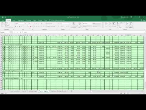 Payroll Project Part 2 YouTube