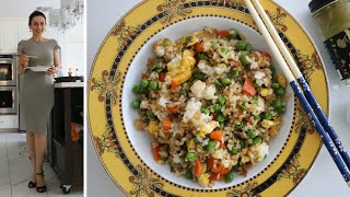 Жаренный Рис Японская Кухня Рецепт от Эгине Heghineh Cooking Show in Russian