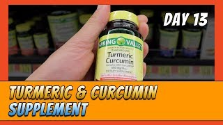 Searching for The Best Turmeric & Curcumin Supplement (Day 13)
