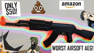 WORST $50 Airsoft AEG Ever Made! | UKARMS AK47