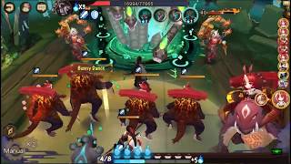 Onmyoji - How To Clear Orochi Stage 9 & 10 : Frozen Time Variation 2