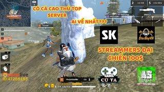 Free Fire| Ai về nhất? Streammers đại chiến 100$ - Team Sỹ Kẹo - Starboyvn - AS mobile và Game củ tạ