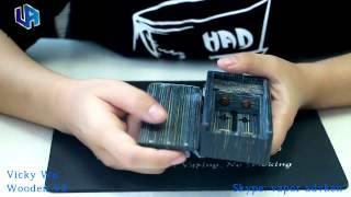 Vicky Wooden V3 Box Mod By Advken
