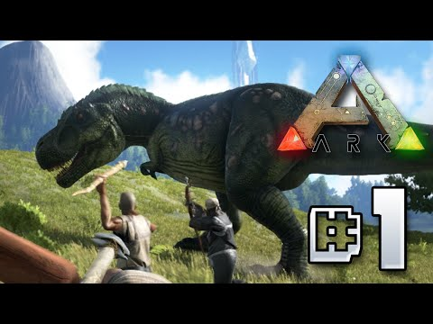 Ark Survival Evolved    Humble Beginnings!!! Ep 1