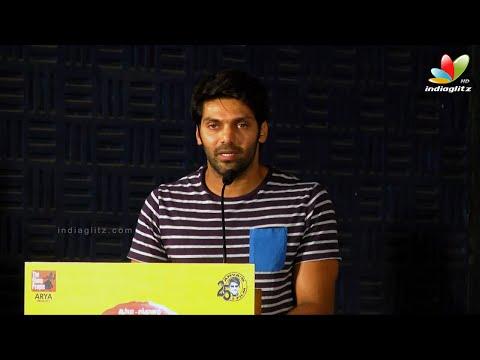 Santhanam has Three Teams of Punch Dialogue Writers - Arya | VSOP Press Meet | D.Imman
