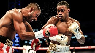 Exclusive look at undefeated rising star Errol Spence Jr. as he became the new IBF Welterweight World Champion with an eleventh round TKO over Kell Brook.