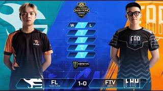Team Flash vs FAPtv | FL vs FTV [Vòng 7 - 13.08] - ĐTDV Mùa Đông 2019