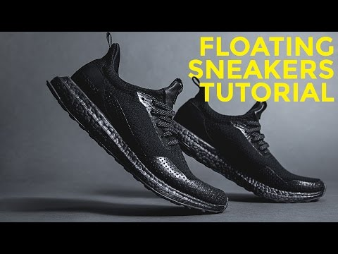 How to make sneakers FLOAT in the air on Instagram photos - Hype Photo Tutorials