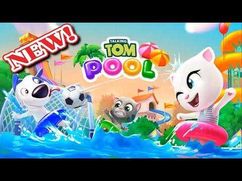 Говорящий Том и друзья Мультик игра для детей скачать бесплатно на андроид Аквапарк видео 2018