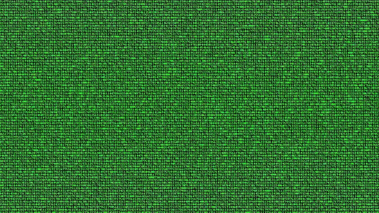Hacking Code runs on screen animation - FreeHDGreenscreen Footage