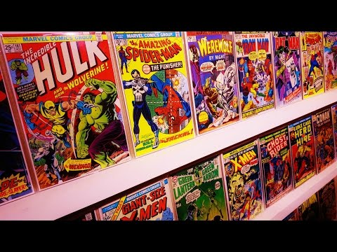 TOP 10 BRONZE AGE COMIC BOOK COLLECTION!!