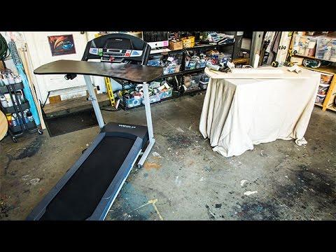 How To  Mark Steines' DIY Treadmill Desk  Home & Family