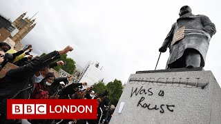Why was Churchill's statue defaced? | Black Lives Matter protest