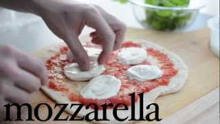 Margherita Pizza Recipe - How To Make Authentic Margherita Pizza