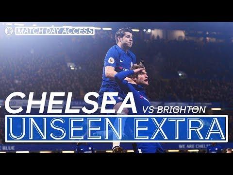 Tunnel Access Chelsea Vs Brighton   Unseen Extra