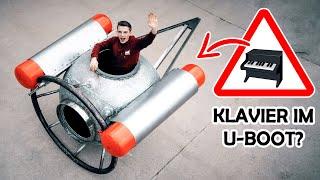 Wir bauen ein KLAVIER in unser U-BOOT ein?!