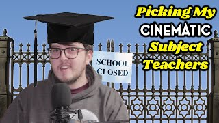 COVID SCHOOL CLOSURES | PICKING FILM CHARACTERS AS MY SUBJECT TEACHERS!
