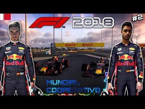 F1 2018 Codemasters MUNDIAL COOPERATIVO con ElReyGuiri | BAHRAIN # 2