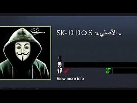 the most edgy hacker steam profile ever